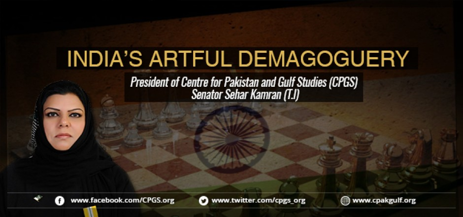 India's artful demagoguery