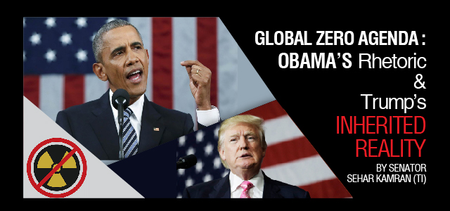Obama's rhetoric & Trump's reality
