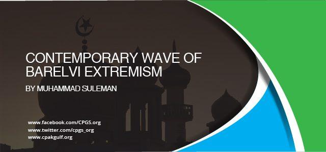 Contemporary wave of Barelvi extremism