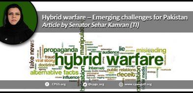 Hybrid warfare – Emerging challenges for Pakistan
