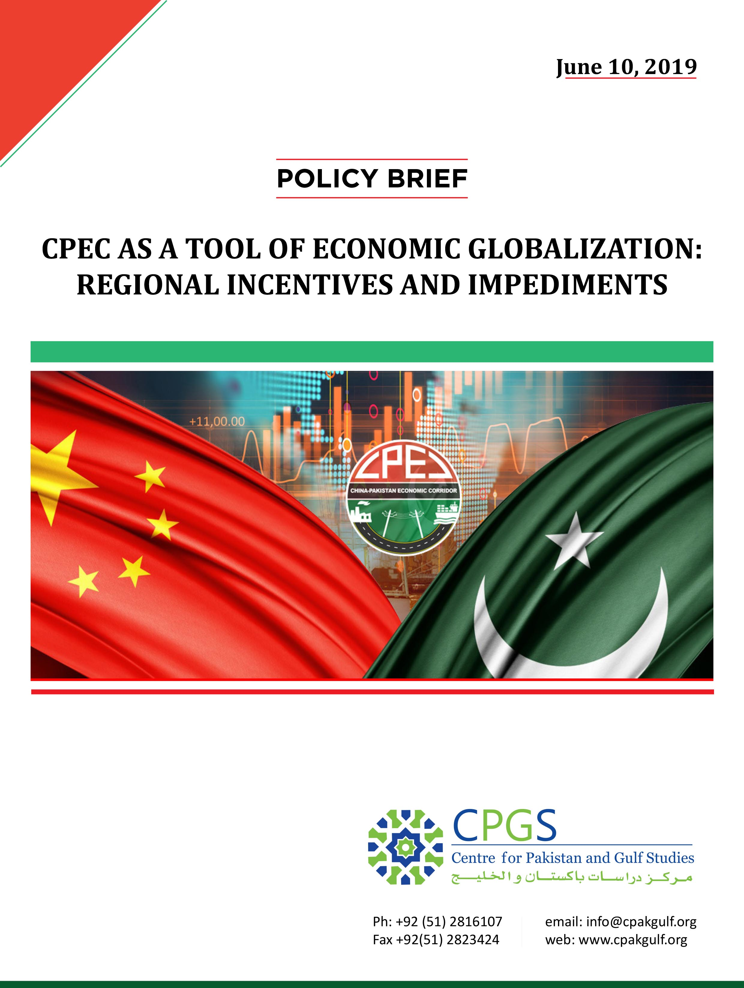 CPEC: DATA AND FACT SHEET