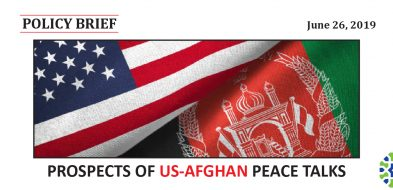 PROSPECTS OF US-AFGHAN PEACE TALKS