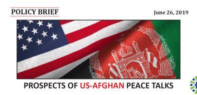 PROSPECTS OF US-AFGHAN PEACE TALKS