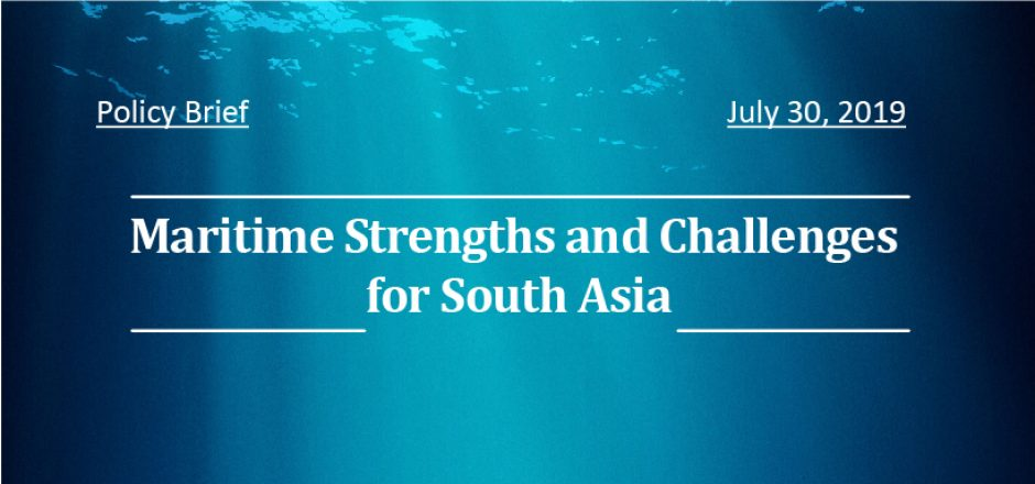 Maritime Strengths and Challenges for South Asia